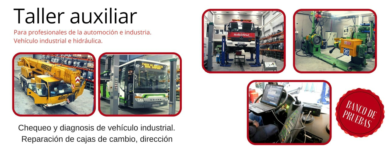 taller vehiculo industrial